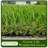 Outdoor Indoor 30mm Balcony Artificial Grass Synthetic Lawn Turf in cheapest price