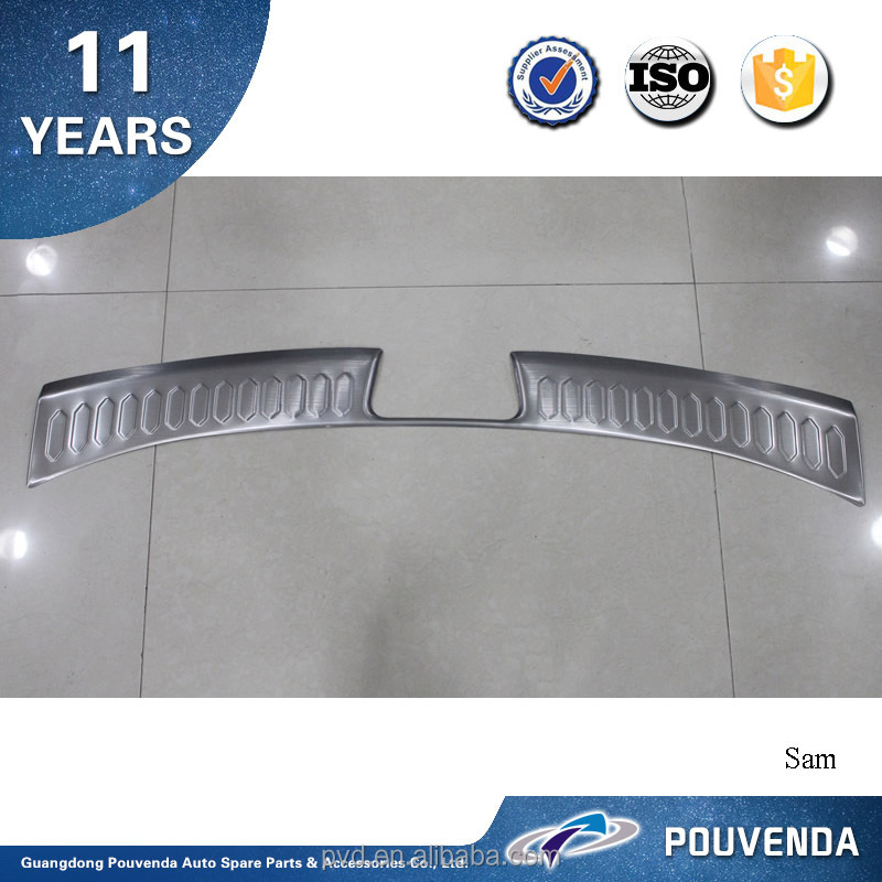 High Quality Stainless Steel Rear Bumper Footplate for 2013+ Sportage R Rear Bumper guard