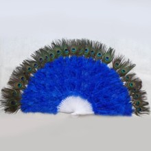 large size white artificial natural peacock feathers eyes made in China