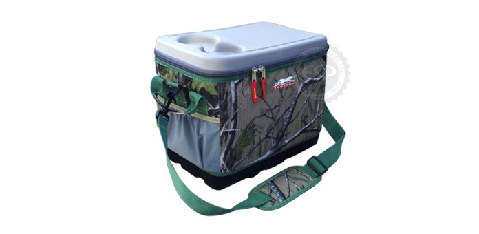 #57110 Leopard 24 Can Hunting Eva Molded Cooler Bag