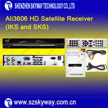 Full HD 1080P DVB-S2 MPEG4 Ali3606 SKS Satellite Receiver