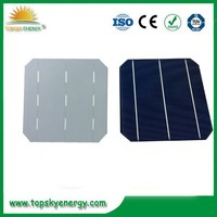 Dark blue 6x6 Pv mono solar cell 3BB have bulk quantity in stock