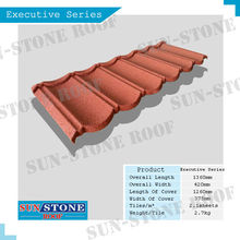 discount mix color decorative metal polymer roof tile