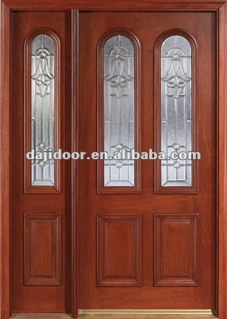 Spanish Exterior Main Wooden Doors Design DJ-S9215MSO