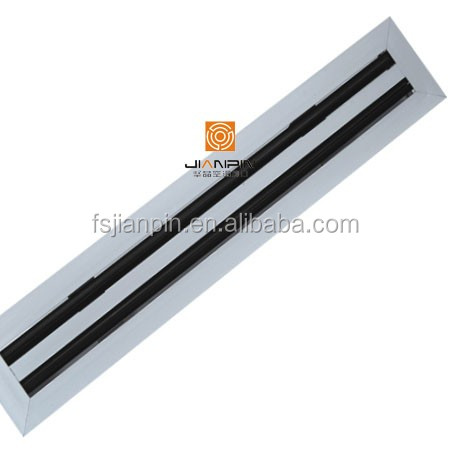 Cooling and Heating Adjustable Linear Slot Air Diffuser Linear Grilles