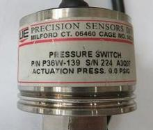 UE P/N P36W-139 PRESSURE SWITCH Actuation press 9.0 PSIG