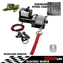 Liteway Electric Winch 4x4 12v 3000lbs