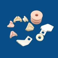 custom industrial alumina textile machine ceramic parts