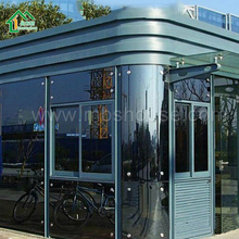 Moneybox low cost prefab steel sentry box shed for sale