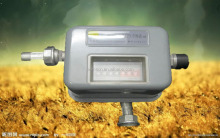 ACME low cost biogas flow meter