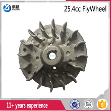 cheapest pars 26cc weed cutter/eater grass trimmer flywheel fits for Tu226 TL26 1E34F Stil Honda Echo engine parts
