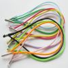 Customized Colored elastic draw cord with metal tip
