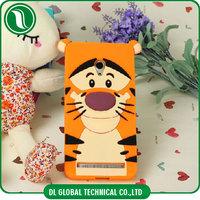 Cartoon Design 3D Shaped Animal Silicone Phone Case