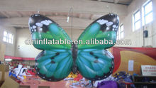 2013 new shape led lighting inflatable butterfly for decorating