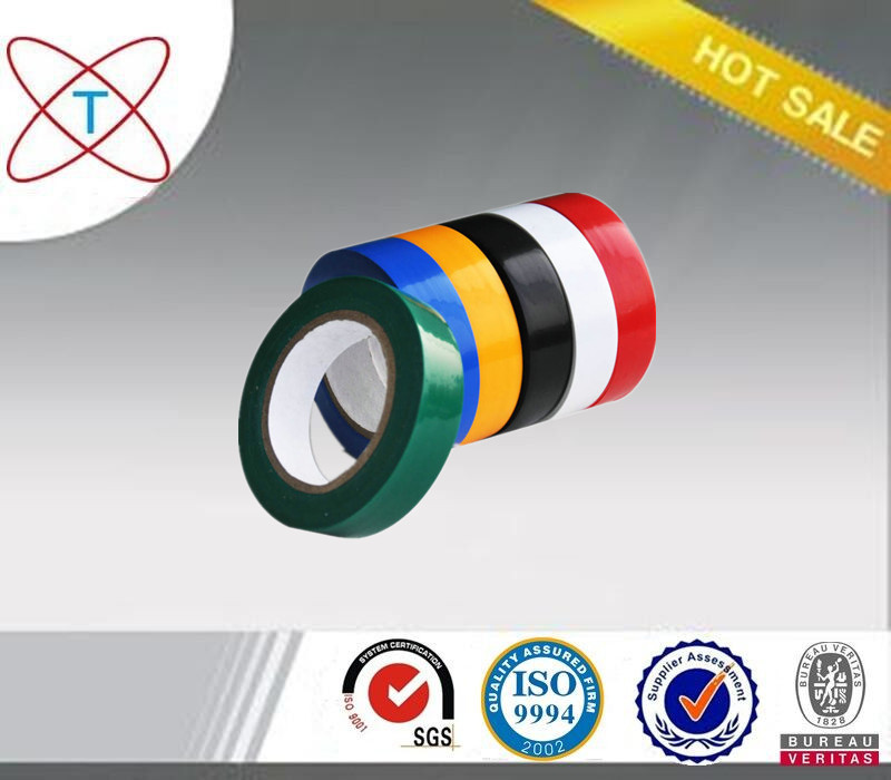 Black Vinyl Electrical Tape/PVC Electrical Wire Insulating tape/pvc electrical tape