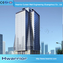 Hwarrior New Type And Style Facade Curtain Wall Glazing