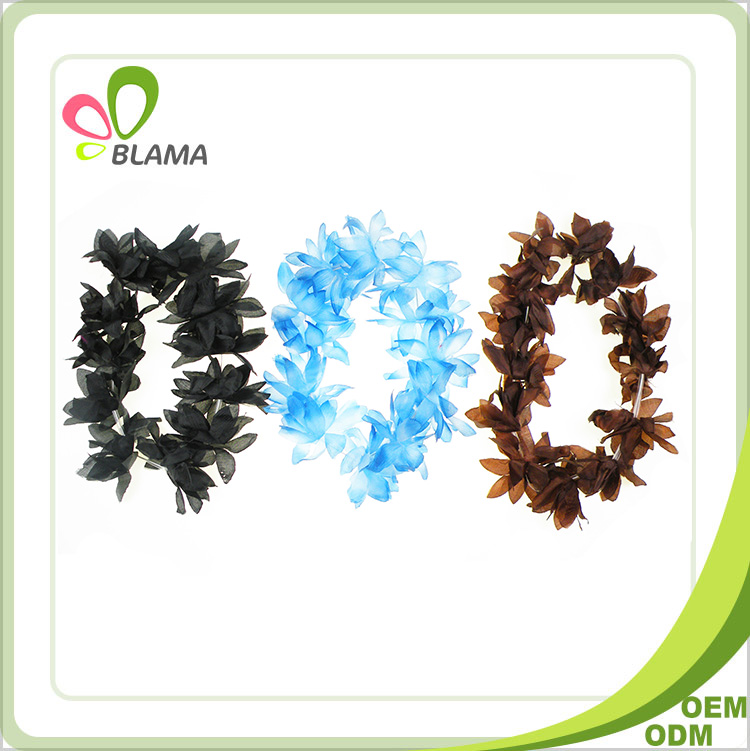 New hot sale promotion artificial hawaiian flowers