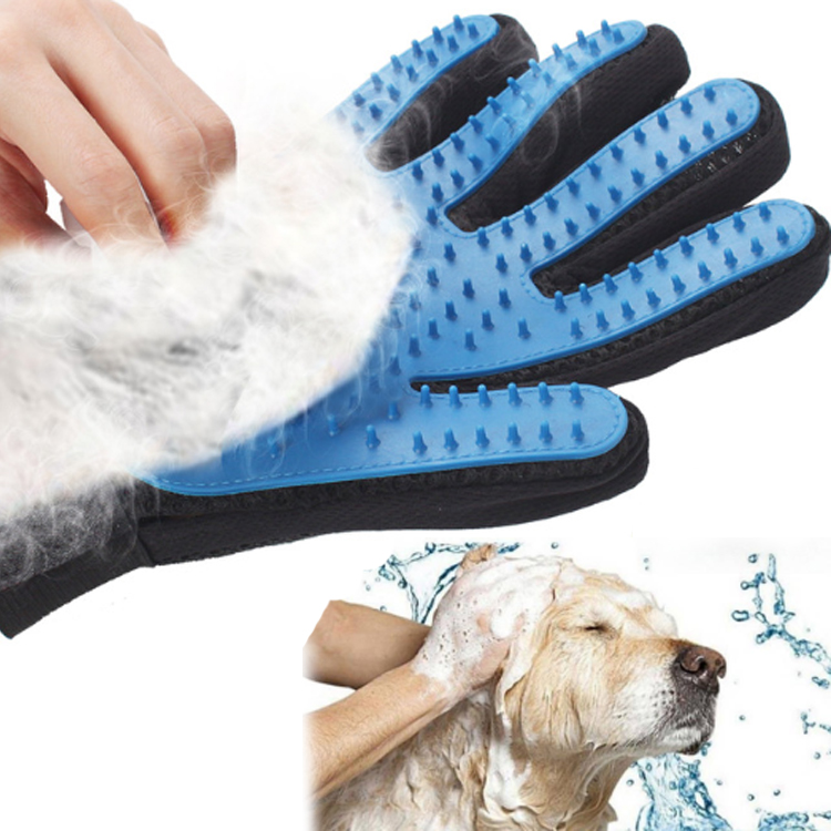 Five Finger Massage Cat Dog Grooming Glove/<strong>Pet</strong> Grooming Glove
