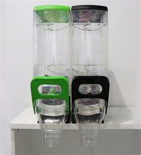 Clear Supermarket candy bin for bulk food and candy