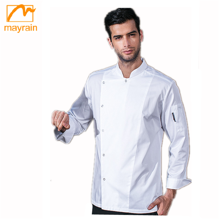 Black Chef Jacket/Chef Clothes/Chef Coat