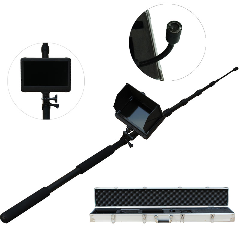 5m adjustable pole 1080P HD camera with 7 inch DVR monitor police equipment