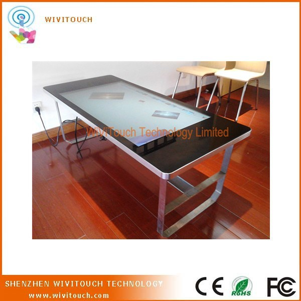 Touchscreen Table Kiosk with Advanced Multitouch Features and Powerful Computing Hardware
