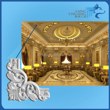 Plaster of Paris Pure Handcraft Good Design Carving Cornice Corner