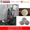 round shape tea bag coffee pod packing machine