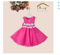 China Alibaba Summer Girls Baby Flower Prom Party Dresses Designs 2016