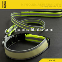 Top seller padded nylon collars with leashes attached