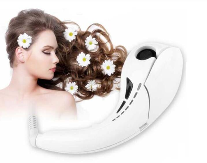 Newly Designed Professional Automatic Rotating Steam magic hair curler factory
