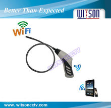 WITSON 8.0mm camera head endoscope borescope snake inspection camera with wifi function (W3-CMP3816W)