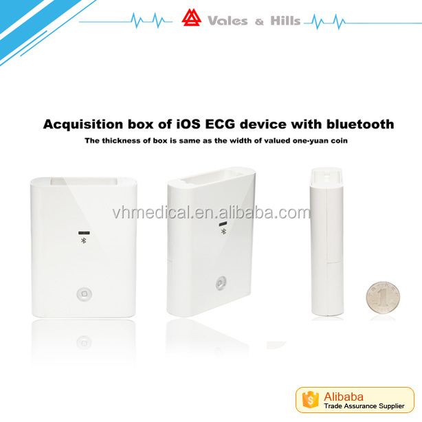 12 channel smart Bluetooth or wifi ecg device for iOS iCV200