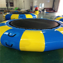 Good price inflatable Water floating outdoor trampoline park