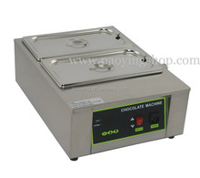 8kg Commercial Use 110v 220v Electric Digital Bain Marie 2 Tank Chocolate Tempering Melter