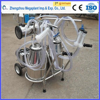 electric single cow portable milking machine