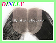 Buy direct from china factory middle part peruvian hair lace closures