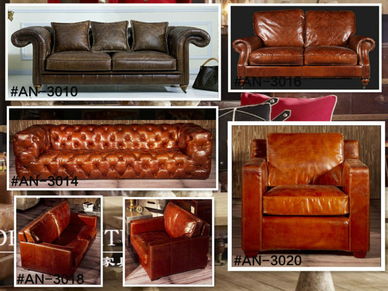 Hotel Aviator sofa AN-3018-2