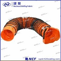 fire fighting material plastic conditioning flexible air duct