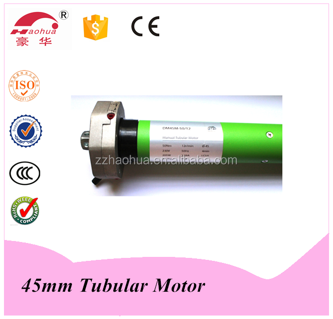45 Series Tubular Motor / electric roller shutter