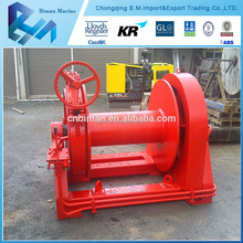 Single/Double Drums mooring marine boat winch / hydraulic winch / anchor winch