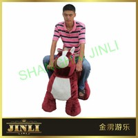 JL-M088 indoor and outdoor Ride on horse electric children scooters