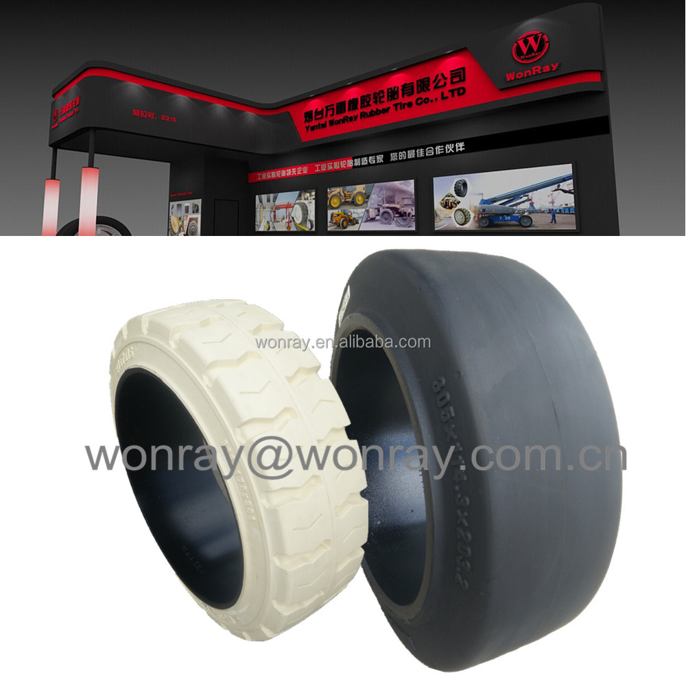 china supplier 22 inch 22x12x16 559x305x406 22x14x16 559x355.6x406 press on solid tires