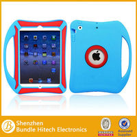 Hot selling shockproof cover for iPad mini with hand hold in alibaba