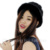 CX-C-197B Fashion Best Women Hat Handmade Wholesale Mink Fur Winter Hat