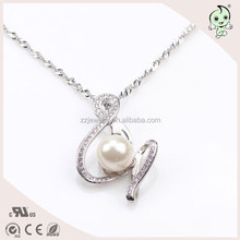 Fancy And Magnetic Pearl Pendant 925 Sterling Silver Necklace