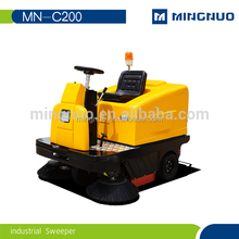 Auto Ride-on Floor Tile Cleaning Machine With Dual Brush