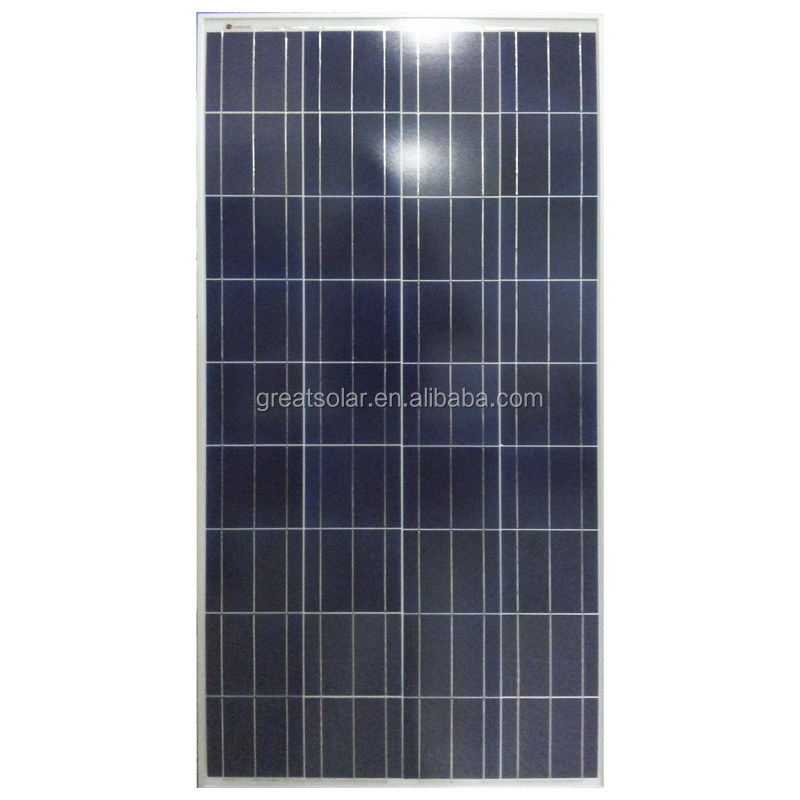 Hot sale poly solar panel 130 Watt mainly factory direct to Afghanistan,Pakistan,Nigeria,Dubai etc with low price...
