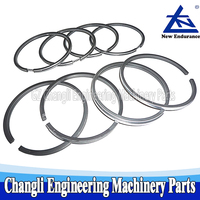 Forklift Spare Parts ATG Piston Ring Set For Xinchai 490BPG A490 C490 490B-04100