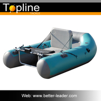 1.5--1.7m Cheap Inflatable Boat Fishing With Electric Motor